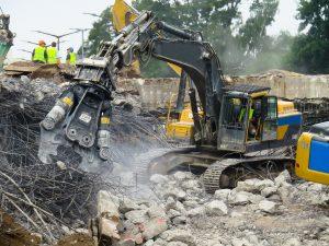 Demolition batiment